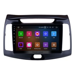 Dvd Gps Hd Android Australia - 9 inch Android 9.0 HD Touchscreen Car Stereo GPS Navigation for 2011-2016 Hyundai Elantra with Bluetooth WIFI support car dvd OBD II 3G 4G