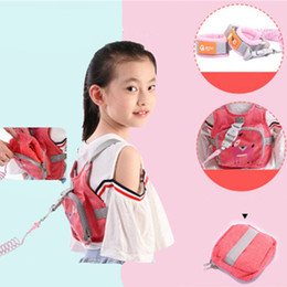 BaBy toddler Backpack safety harnesses online shopping - Cartoon Baby Safety Harness Backpack Toddler Anti lost Bag Children Anti lost bracelet Strap bag anti lost traction rope Strap Schoolbag