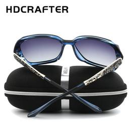 f1db5bfd6f9 HDCRAFTER Women s Luxury Designer Polarized Sunglasses Elegant Oversized  ultraviolet-proof Sun Glasses Female UV400 Anti-Glare Trend glasses