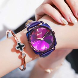 Petal watch online shopping - GUOU Square Ladies Watch Fashion Trend Simple ins Wind Petals Watch Tide
