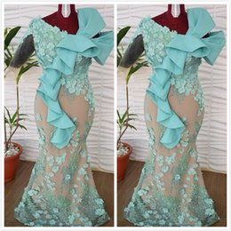 $enCountryForm.capitalKeyWord Australia - Sky Blue Luxurious 2019 African Mother Of Bride Dresses Mermaid Lace Beaded Mother Of Groom Dresses Hand Made Flowers Evening Formal Gowns