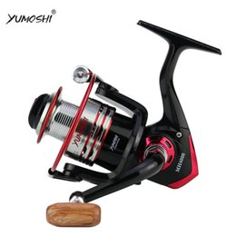 12 Gear Australia - YUMOSHI MH1000-MH9000 SPINNING REELS BALL GEAR 12BB ALUMINIUM ALLOY LINE CUP AND ROCK ARM STURDY AND DURABLE FISHING REELS