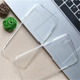 0.3mm TPU Case Crystal Clear couverture arrière pour Huawei P30 Pro Samsung S10 Note 10 plus S10E Iphone 11 Pro XS MAX en Solde