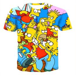 09a41ffe5 2019 Summer Male Anime T-shirt Men Cute Tops Cartoon Tees 3D Printed T Shirt  Crewneck Short Sleeve Clothes Hip Hop Tshirt XS-6XL