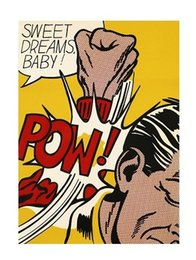 Art Dreams Canvas Print NZ - Roy Lichtenstein Sweet Dreams Baby ! High Quality Handpainted &HD Print Abstract Pop Art oil painting On Canvas,Home Decor Multi Sizes Ry29!