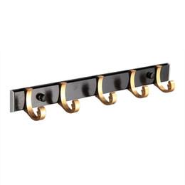 $enCountryForm.capitalKeyWord Australia - 1PC Alumimum Door Hook Clasp Wall Hanging Hook Pothook Hanger Durable Practical Hanger for Coat Key Towel Bag