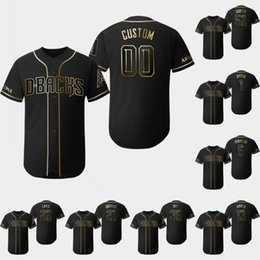 0b9636ef ArizonA diAmondbAcks jersey online shopping - Arizona Golden Edition Diamondbacks  Jersey Zack Greinke Eduardo Escobar Ketel