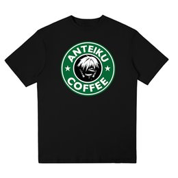 $enCountryForm.capitalKeyWord Australia - Men T Shirt Leisure trend Original Anteiku Coffee Logo Japanese anime Tokyo Ghoul Tshirt Short Sleeve Stylish currents tshirts
