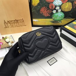 Wholesale best long zipper wallet with box women brand Genuine Leather square wallet leather purse women wallet size cm