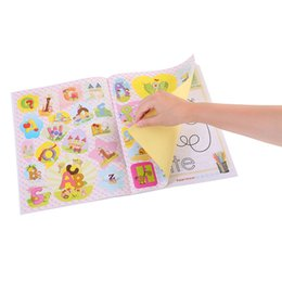 painting colorful NZ - Children's Drawing Colorful Early Childhood Education Puzzle Baby Painting Cartoon Graffiti Color Drawing Paper Toys