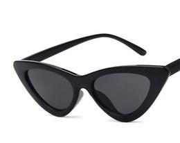 $enCountryForm.capitalKeyWord UK - Trendy Full-rim Spectacles Retro-shaped Triangle Cat Eye Sunglasses Small Size Frame 9 optional styles free shipping.