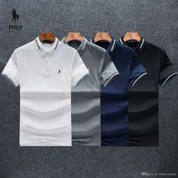Ralph Polo Xxl Australia - Mens designer Polo Ralph Tshirt Lauren Best seller Luxury High quality small logo T shirt Classic Street Breathable Round neck size M-XXL