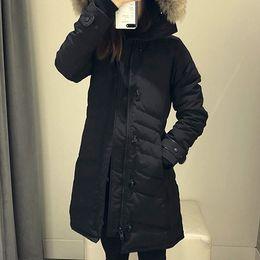 $enCountryForm.capitalKeyWord Australia - Fashion Winter Down Parka Lorete Designer Brand Hooded Parkas Women Clothing Warm for Ladies Outdoor Coats Plus Size
