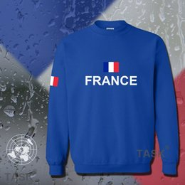 nation flags 2019 - France hoodies men sweatshirt sweat new hip hop streetwear socceres jersey footballer tracksuit nation French flag fleec