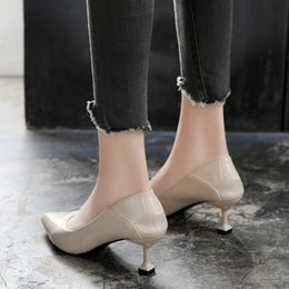 Two Pairs Shoes Australia - One generation of hairtipped high heels small size 3132 33 two pairs of comfortable womens single shoes large size 4142 43