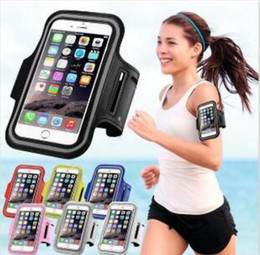 waterproof cases for cell phones Australia - HOT Iphone 7 Waterproof Sports Running Case Armband Running bag Workout Armband Holder Pounch For iphone Cell Mobile Phone Arm Bag Band