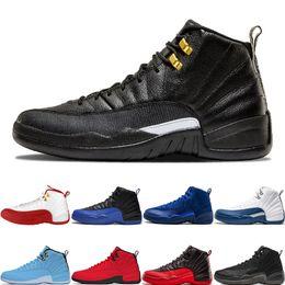 $enCountryForm.capitalKeyWord Canada - Cheap 12 12s Fashion Basketball Shoes The Master FIBA Game Royal Flu Game Deep Royal Blue Michigan o-black Designer Mens Sport Sneakers
