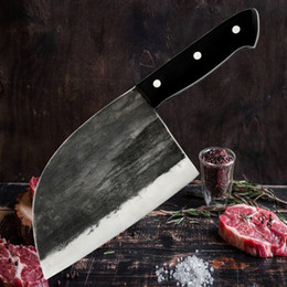 $enCountryForm.capitalKeyWord NZ - 6.5inch Chinese Forging Butcher Knife Kitchen Slaughtering Knife Chef's Meat Cleaver Hardness Handmade Forged Manual Knife