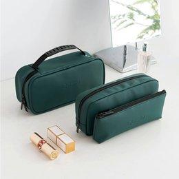 Travel Pillow Kits Wholesale Australia - New Cosmetic Bag Women Zipper Make Up Bag Travel Waterproof Portable Makeup Toiletry Kits