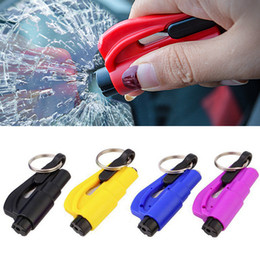 $enCountryForm.capitalKeyWord Australia - Jewii Mini Safety Hammer Keychain Escape Car Life-saving Escape Hammer Window Broken Emergency Glass Breaker