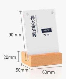 Desk Accessories & Organizer Lovely Aluminum Metal Table Sign Holder L Desk Name Card Display Stand Card Desktop Price Tag Frame Shelf Talker Advertising Rack Case