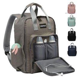 $enCountryForm.capitalKeyWord NZ - Waterproof Baby Bag Mummy Maternity Laptop Backpack For Women Fashion USB Travel Backpack Large Capacity Nursing Bag 2019 New