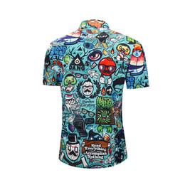 $enCountryForm.capitalKeyWord NZ - Men's Shirt 3D Cartoon Pattern Print Shirts Loose Fashion Summer Short Sleeve Hawaiian Shirt Male Designer Shirts Casual Street