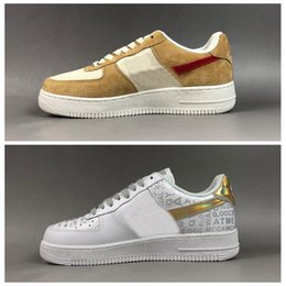 Genuine leather fabric yard online shopping - 2019 Designer Forces NASA Craft Mars Yard Running Shoes AF Forced Tom Sachs x Upstep Women Mens Trainers Sneakers Zapatillas