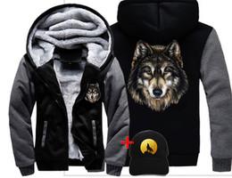 $enCountryForm.capitalKeyWord Australia - Fashion Men women Warm Thick Coat Jacket winter warm wild wolf awesome cool Street velvet Sweatshirt top Hoodies
