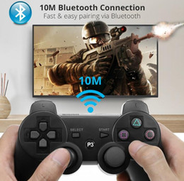 wholesale PS3 controllers Wireless Controller Bluetooth Game Double Shock For playstation 3 Joysticks gamepad on Sale
