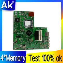 Discount test mainboard - AK Original All-in-one motherboard For ASUS ET2400 ET2400E 4*Memory mainboard 100% Test ok Works