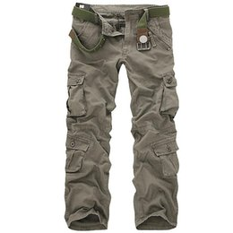 $enCountryForm.capitalKeyWord UK - Men Tactical Military Pants Male Casual Multi-pockets Overalls Loose Style Trousers Mens Fashion Cargo Outwear Camouflage Pants