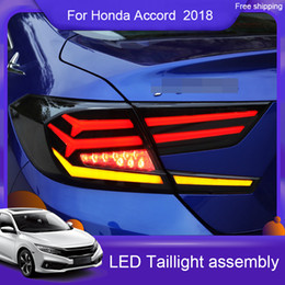 honda accord led lights 2020 - Car Styling for Accord 2018 2019 accord tail lights New 10th LED Tail Light LED Rear Lamp LED Rear Lamp Turning+Reversin