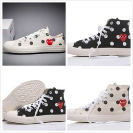 $enCountryForm.capitalKeyWord NZ - Brand New 12 Colors 1970s star All High Top Low Top Classic Canvas Shoes Skateboard Sneakers Men's Women's Designer Casual Shoes Size 35-44