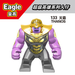 Guardians Galaxy buildinG blocks online shopping - High quality Marvel Super Heroes legoings Infinity War Thanos Guardians of Galaxy Avengers THanos Building Blocks Toys Figures D133