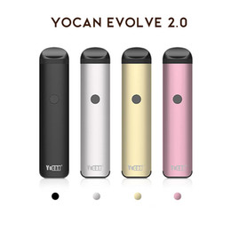 Pen Connection Australia - Authentic Yocan Evolve 2.0 Starter Kit 3 in 1 Vape Pen Preheat Battery With Magnetic Connection Vaporizer Pen Starter Kits DHL free