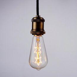 $enCountryForm.capitalKeyWord NZ - ST64 E27 Socket 220V 40W Lamp Tungsten Wire Edison Classic Bulb Edison Bulbs Incandescent Screw Filament Bulbs For Pendant Light Lamp