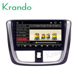 "$enCountryForm.capitalKeyWord Australia - Krando Android 8.1 10.1"" IPS Full touch Big Screen car dvd Multimedia player for Toyota YARIS Sedan 2016+ audio player gps BT wifi"