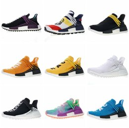 $enCountryForm.capitalKeyWord NZ - Hot Cheap 36-47 athletic discount Sports Shoes Pharell Williams Women Human Race Shoes Trainer Footwear designer sneakers