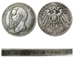 $enCountryForm.capitalKeyWord Australia - 1898 Germany 5 Mark States Baden - Friedrich I Copy Coins Free Shipping