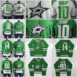 ice hockey player NZ - Dallas Stars Jerseys The Best Player Of Jamie Benn Jersey Tyler Seguin Patrick Sharp High Quality Embroidered Men Ice Hockey Jersey Stitched