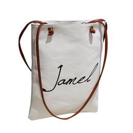 $enCountryForm.capitalKeyWord NZ - Cheap OCARDIAN Shoulder bag tote bag Handbags women's Women Fasion Female Simple Letter Canvas Bags Handbag Drop shipping CSV A1204#30