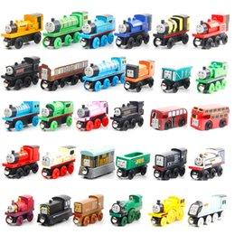 Parti Noel Kid' Doğum Hediyesi, Ev Süs Thomas Tren Ahşap Model Oyuncak Thomas Tren Takip ile uyumlu Mini Boyut, 59 Stiller,