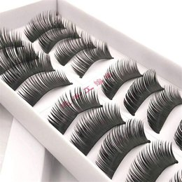 making false eyelashes Australia - False Eyelashes Wispy Eyelash Extensions 10 pairs  pack Natural Thick Eyes Makeup Eye lashes Fake Eyelashes Faux Eyelash