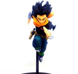 $enCountryForm.capitalKeyWord UK - Japan Anime Dragon Ball Android 17 Lapis Figure Model Toys 18cm