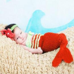 $enCountryForm.capitalKeyWord NZ - Newborn photo props mermaid tail bra headband new born costume baby photography accessories infant baby photo new born shooting fotografia