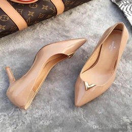 $enCountryForm.capitalKeyWord Australia - New Korean fashion wild pointed non-slip high heels single shoes sexy comfortable trend leather luxury high heels Size 34-42 number:23-333