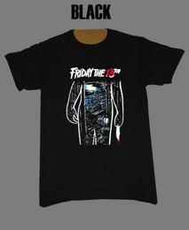 Vente en gros Vendredi 13 T-shirt vintage rétro d'horreur Jason