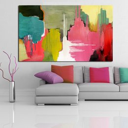 $enCountryForm.capitalKeyWord Australia - 1 Piece Abstract Color Watermark Wall Art Picture Home Decor Living Room Modern Canvas Print Painting No Frame