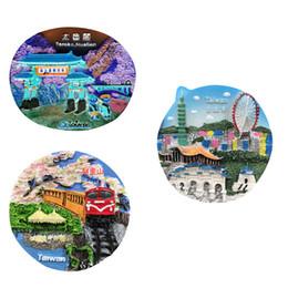 $enCountryForm.capitalKeyWord UK - Lychee Life China Taiwan Fridge Magnet World Famous Landscape Magnets Souvenir Modern Home Kitchen Decor